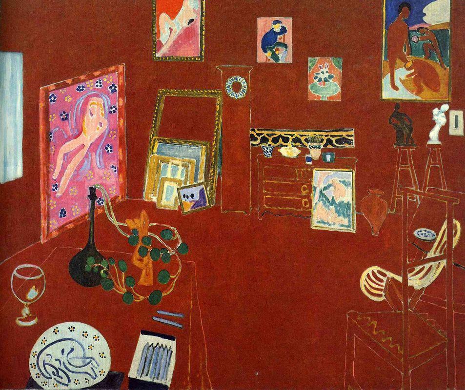 Red Studio - Henri Matisse