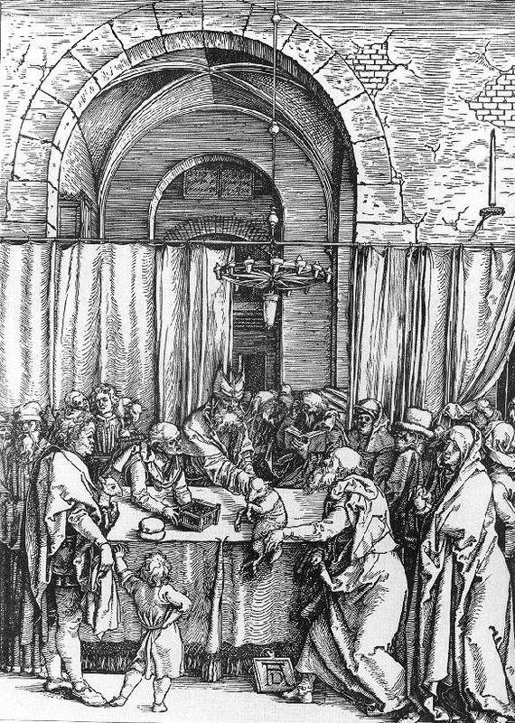 Refusal of Joachim`s Offer - Albrecht Durer