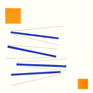 Relief in Orange and Blue - Lygia Pape