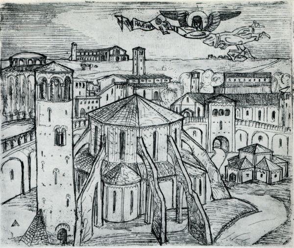 Reminiscence of Ravenna - El Lissitzky