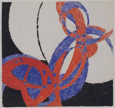 Replica of Fugue in Two Colors: Amorpha - Frantisek Kupka