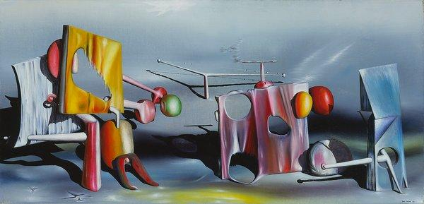 Reply to Red - Yves Tanguy