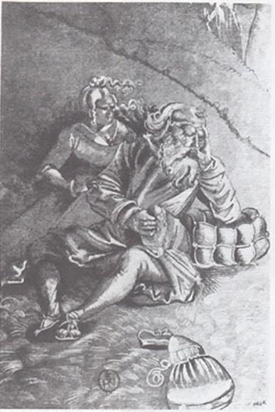 Resting couple - Hans Baldung