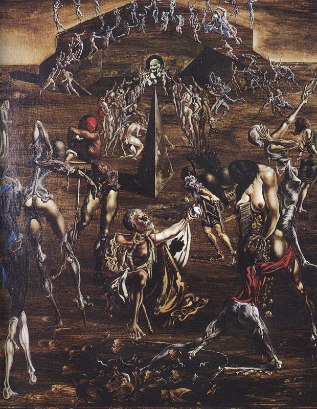 Resurrection of the Flesh - Salvador Dali