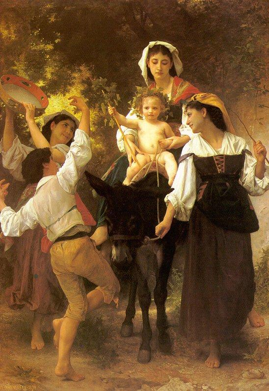 Return from the Harvest - William-Adolphe Bouguereau