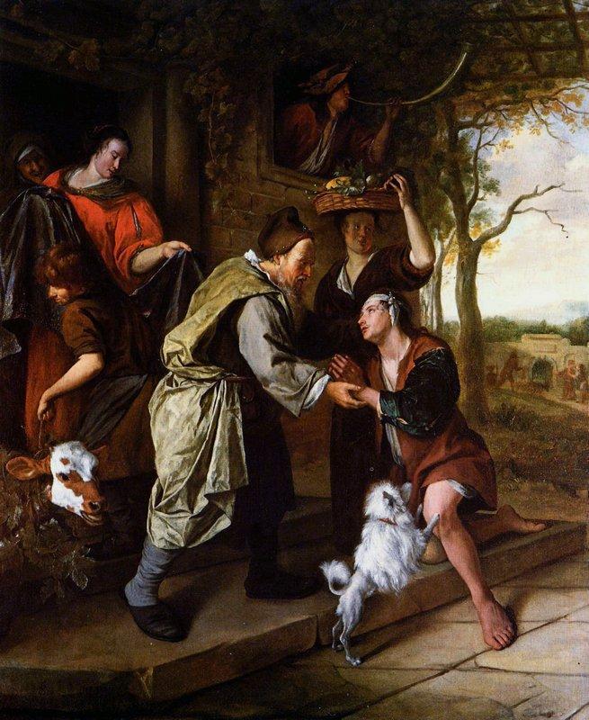 Return of the prodigal son - Jan Steen