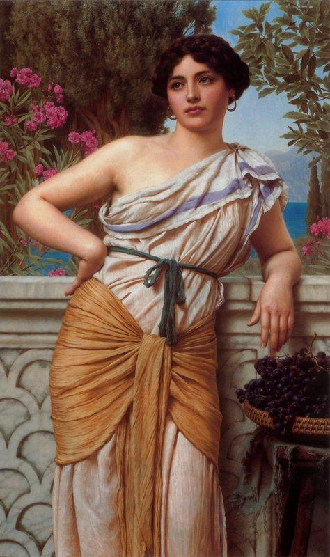 Reverie - John William Godward