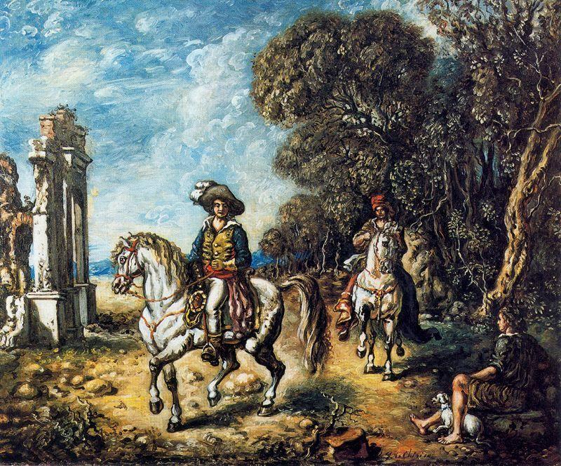 Riders - Giorgio de Chirico