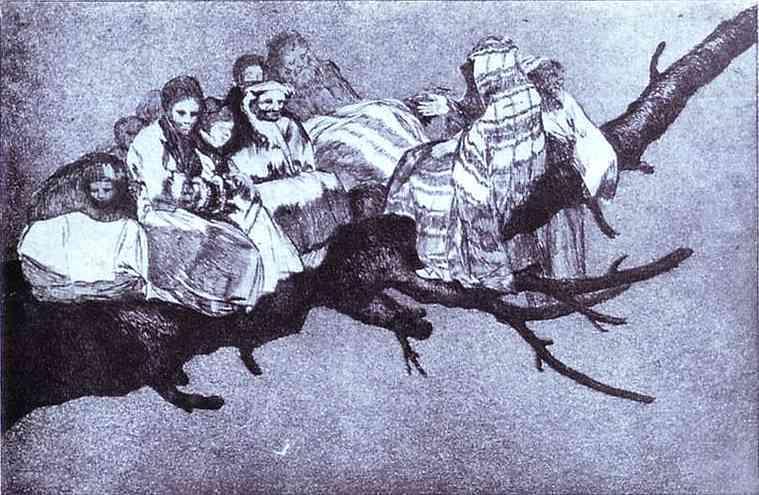 Ridiculous dream - Francisco Goya