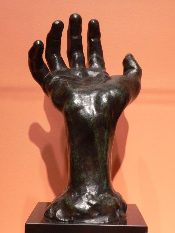 Right hand - Auguste Rodin
