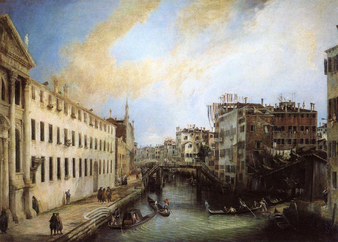 Rio dei Mendicanti - Canaletto