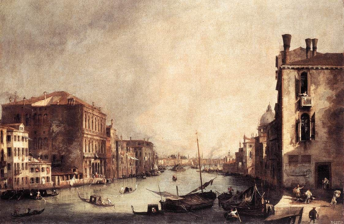 Rio dei Mendicanti: Looking South - Canaletto