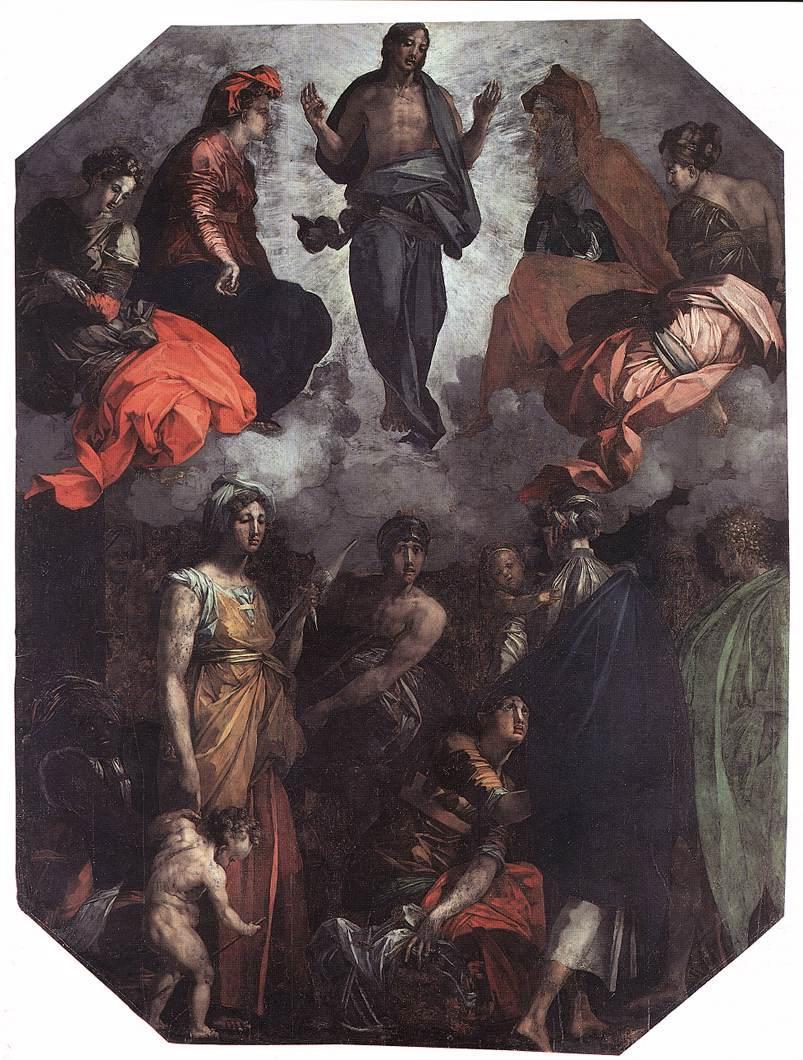 Risen Christ - Rosso Fiorentino