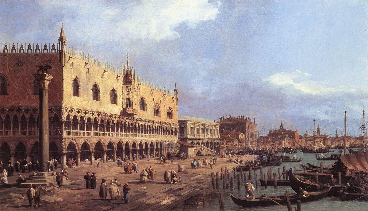 Riva degli Schiavoni: Looking East - Canaletto