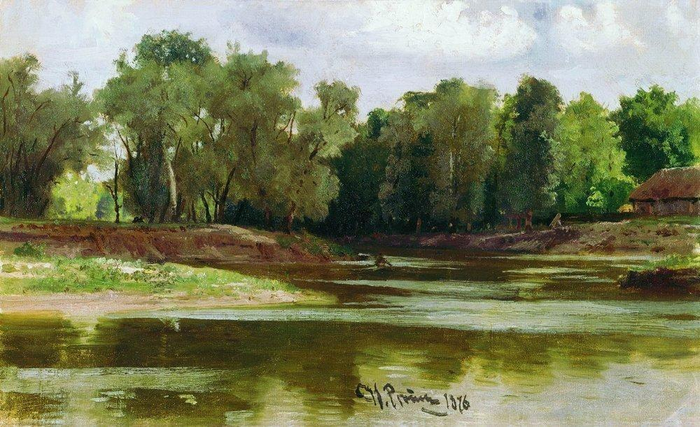 River Bank - Ilya Repin