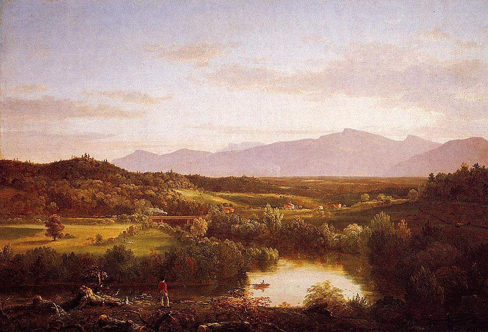River in the Catskills - Thomas Cole