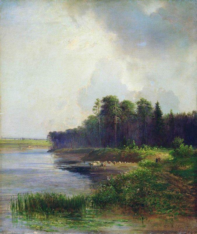 Riverside - Aleksey Savrasov