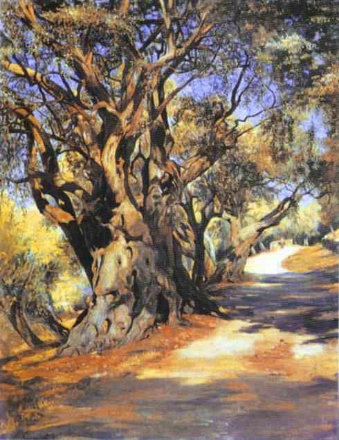 Road from Rome to Albano - Henryk Siemiradzki