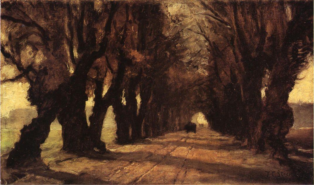 Road to Schleissheim - T. C. Steele
