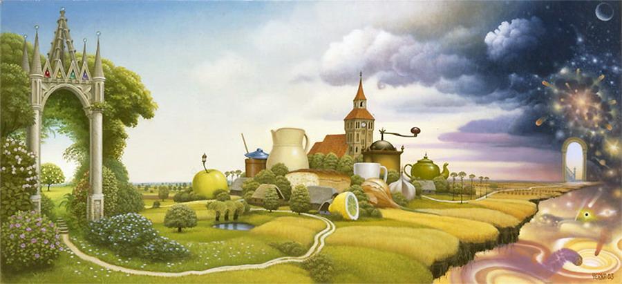 Road - Jacek Yerka