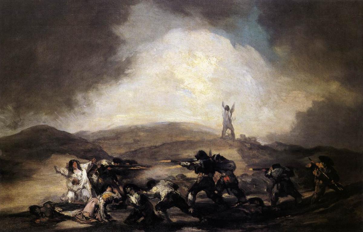 Robbery - Francisco Goya