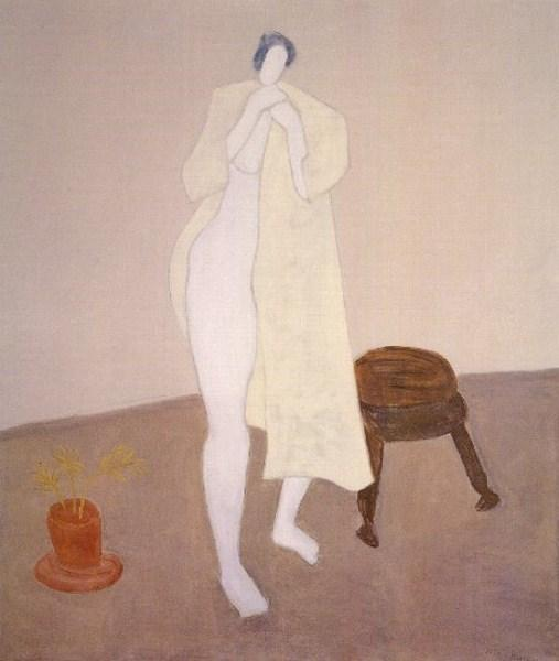Robed Nude - Milton Avery