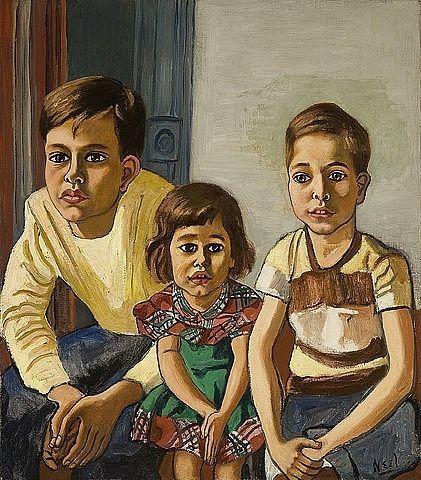 Robert, Helen and Ed - Alice Neel