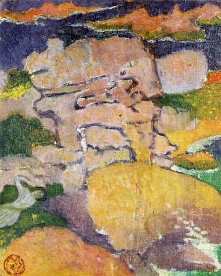 Rocks at Pouldu - Maurice Denis