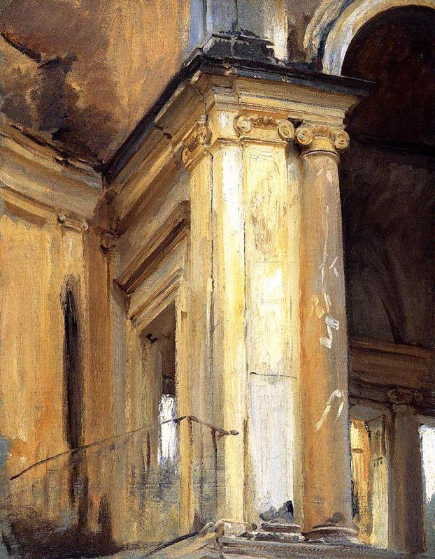 Roman Architecture - John Singer Sargent