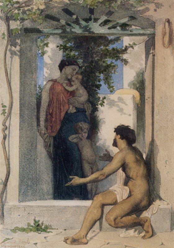 Roman Charity - William-Adolphe Bouguereau