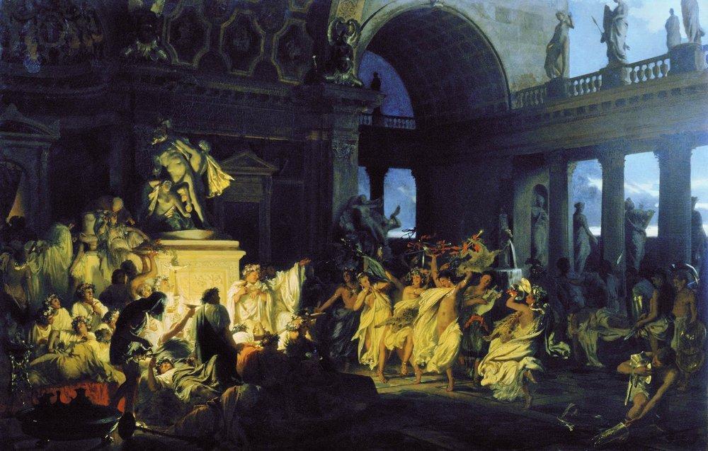 Roman Orgy in the Time of Caesars - Henryk Siemiradzki