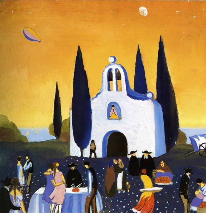 Romeria Pilgrimage - Salvador Dali