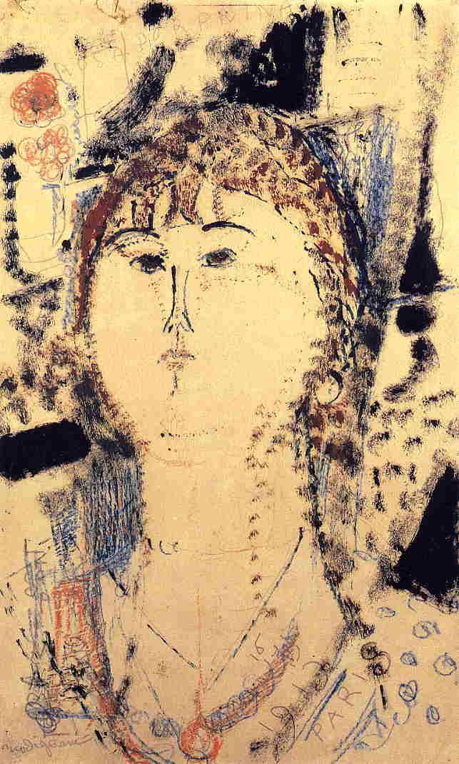 Rosa Porprina - Amedeo Modigliani