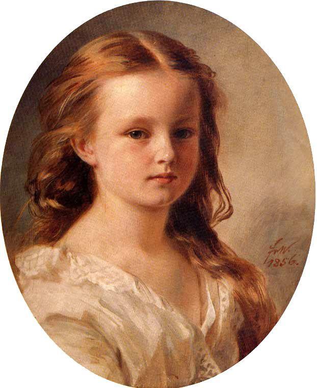 Rosa Potocka - Franz Xaver Winterhalter