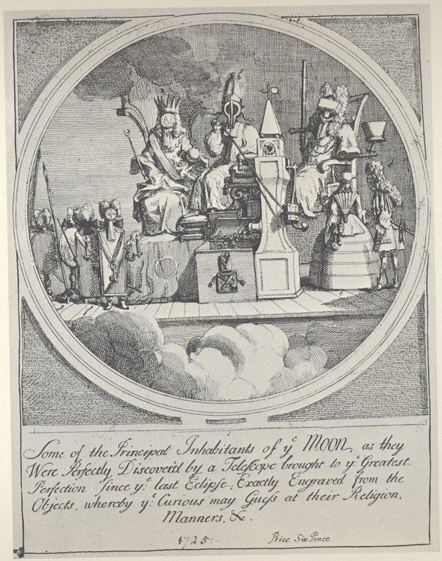 Royalty, Episcopacy and Law - William Hogarth