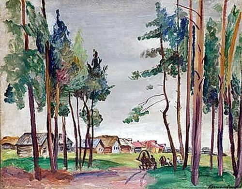 Rural Landscape - Pyotr Konchalovsky