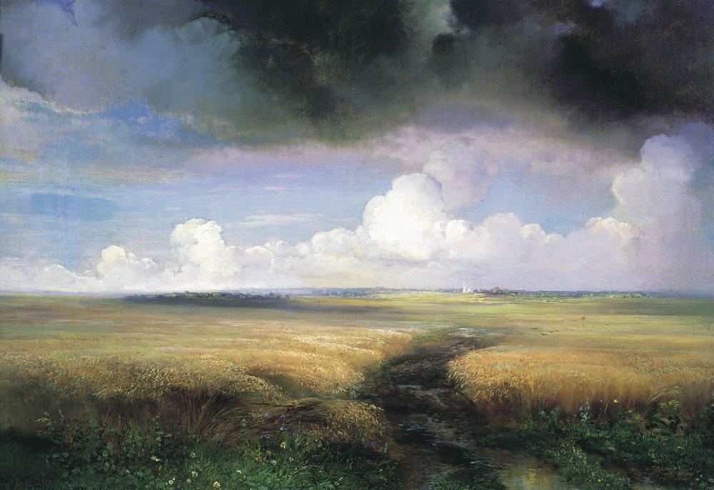 Rye - Aleksey Savrasov