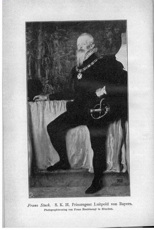 S. K. H. Prince Regent Luitpold of Bavaria - Franz Stuck