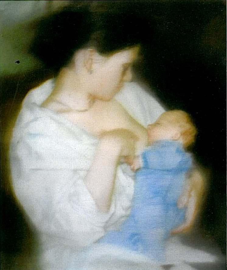 S. with Child - Gerhard Richter