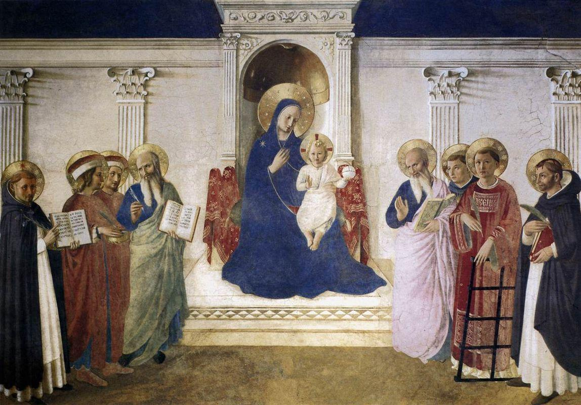 Sacred Conversation - Fra Angelico