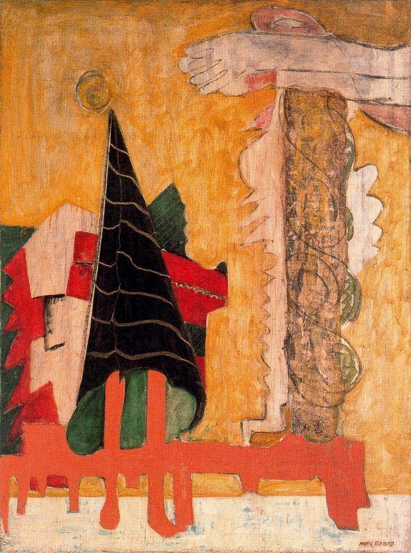Sacrifice of iphigenia - Mark Rothko