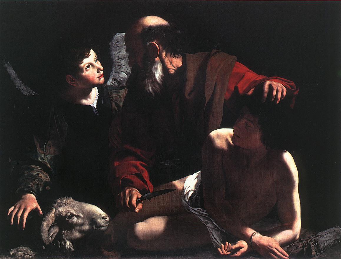Sacrifice of Isaac - Caravaggio