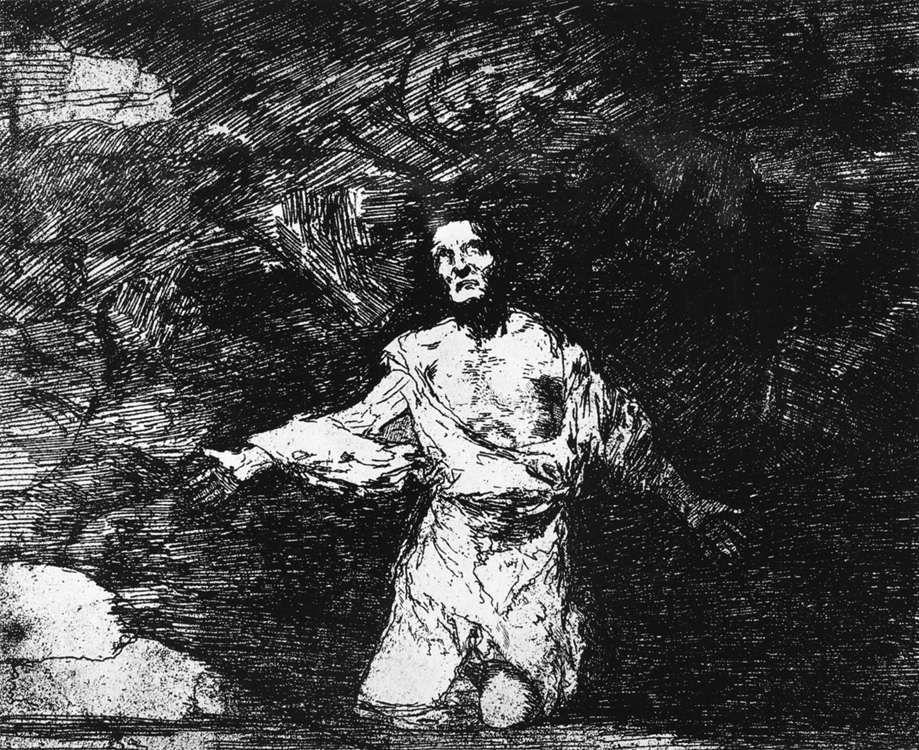 Sad forebodings of what is to come - Francisco Goya