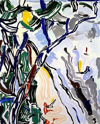 Sailboats - Roy Lichtenstein