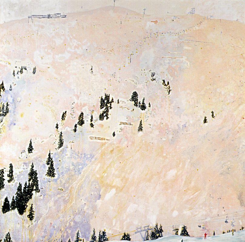 Saint Anton (Flat Light)  - Peter Doig