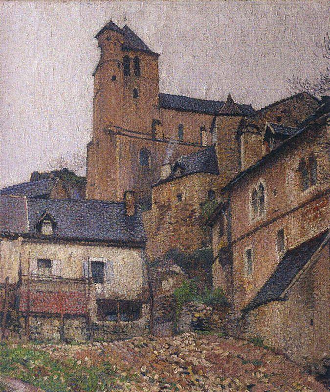 Saint-Cirq Lapopie Square - Henri Martin