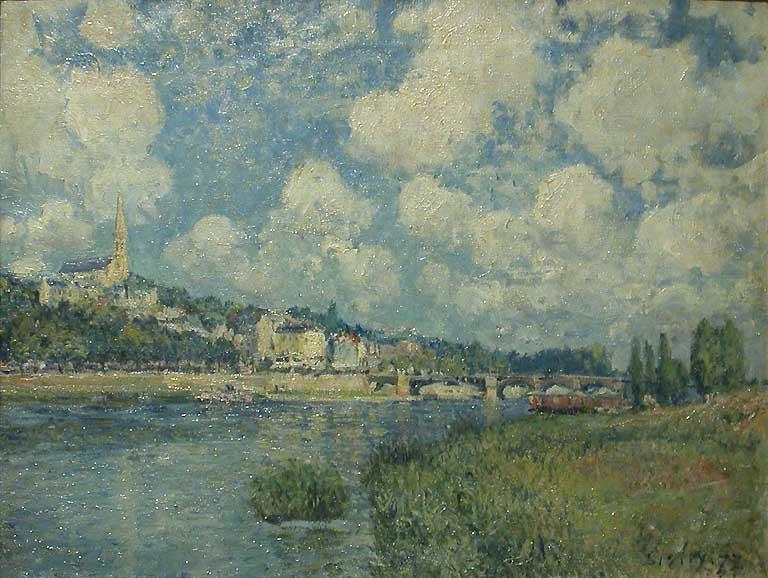 Saint Cloud - Alfred Sisley