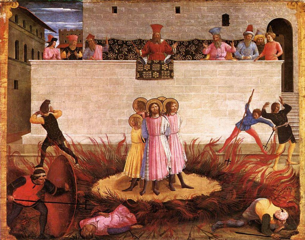 Saint Cosmas and Saint Damian Condamned - Fra Angelico