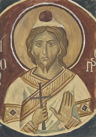 St James the Persian, from Meteora 1931 - Yiannis Tsaroychis