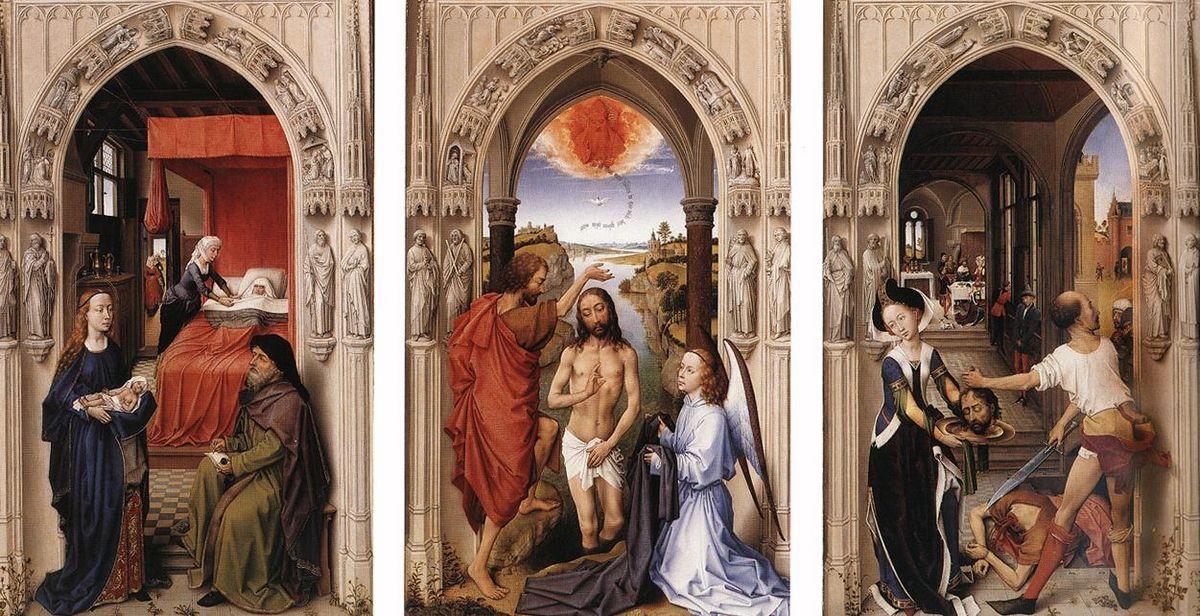Saint John Altarpiece - Rogier van der Weyden